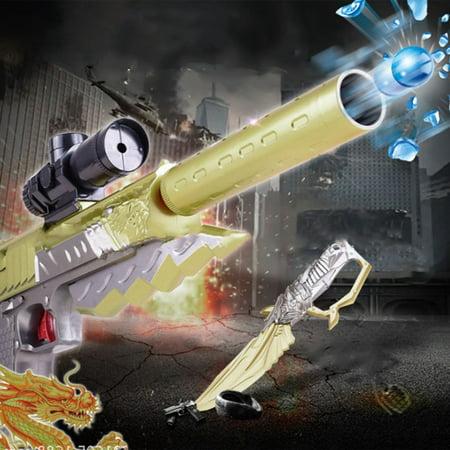 Desert Eagle Gaming Game Handgun Model Kids Toy Gun Electric Bullet Gun Bursts Of Water Children Gift S8204B