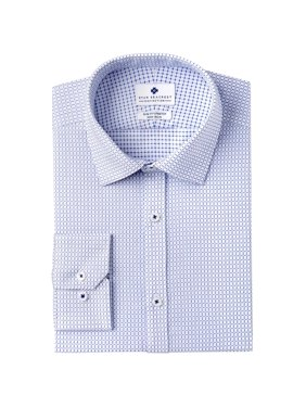 Ryan Seacrest Distinction Mens Slim-Fit Stretch Non-Iron Dress Shirt 15-32/33