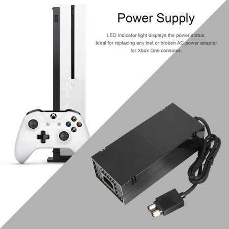 XBOX One Power Supply Cord Brick AC Power Adapter for Xbox One - seenda AC  Power Adapter Replacement Charger brick Accessories Kit with Cable for Xbox