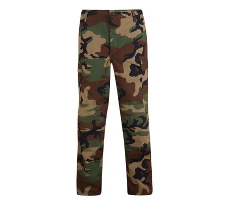 Propper BDU Trouser, 100% Cotton Ripstop, 4XL-Regular, Woodland