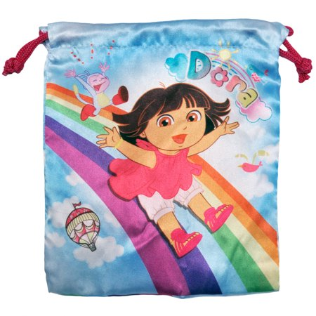 Dora The Explorer Girls Small Drawstring Pouch Bag