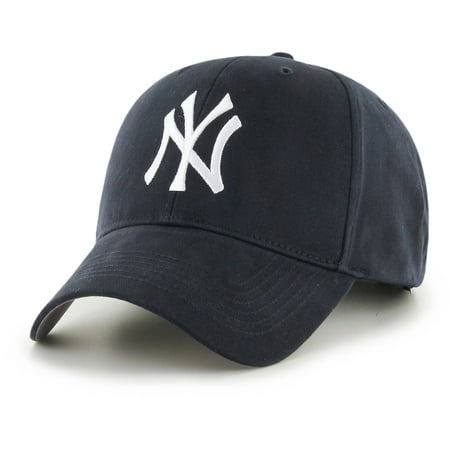 Cap Toe Lace Up Cap (MLB New York Yankees Basic Cap / Hat by Fan Favorite )