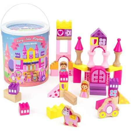 Boy Toy Playset, 50pcs Princess Prince Fairy Tale Kingdom Kids Playset Toy