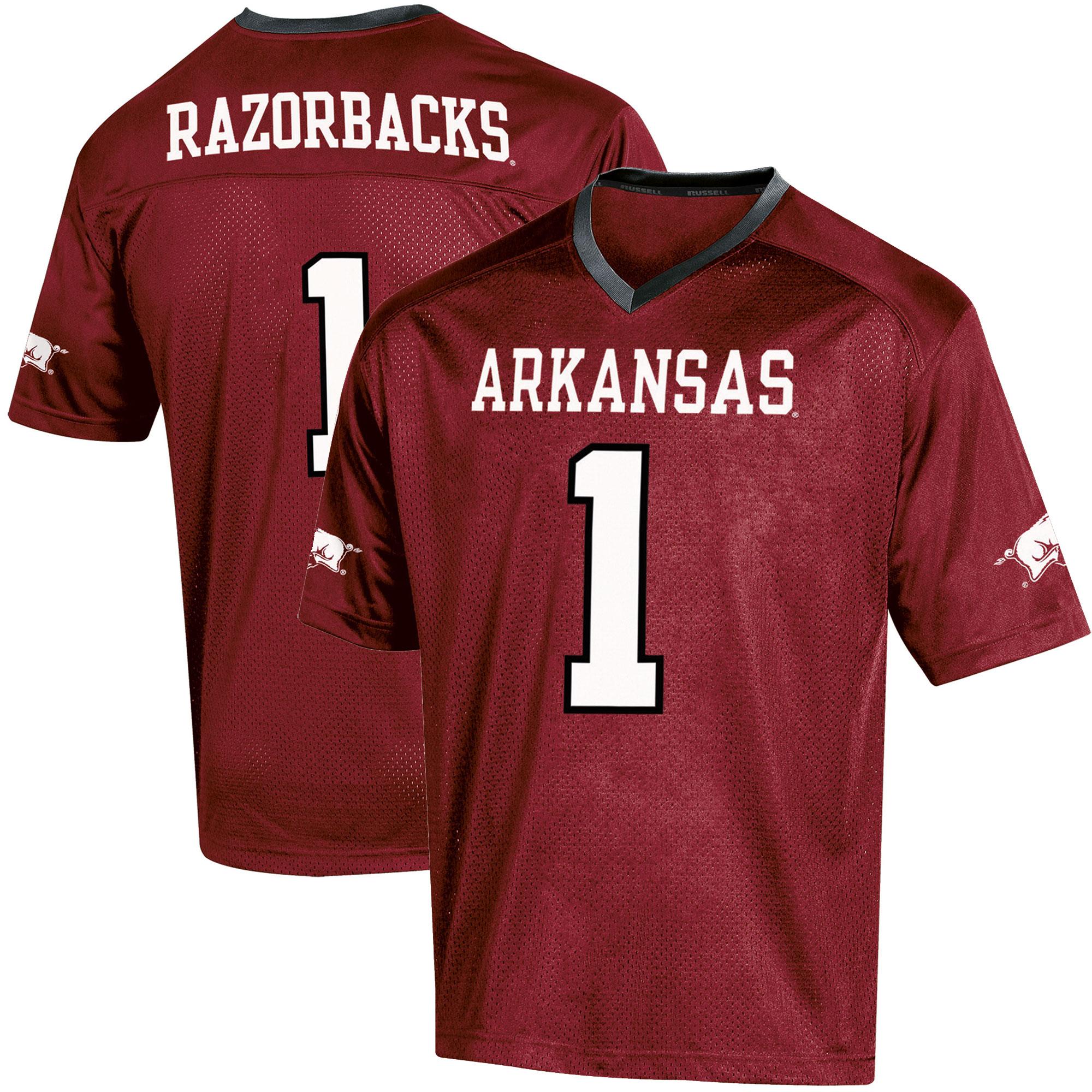 Toddler Russell Cardinal Arkansas Razorbacks Replica Football Jersey