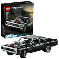 LEGO Technic Fast & Furious Doms Dodge Charger 42111 Race Car Building Set (1077 Pieces)