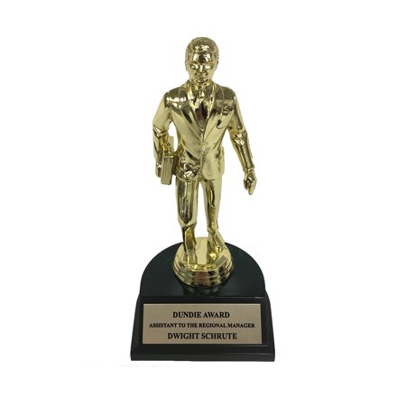 Dwight Schrute Assistant To The Regional Manager Dundie Award Trophy Office Gift](Dundie Award)