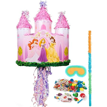 Disney Princess Castle Pull-String Pinata Kit - Disney Princess Pinata