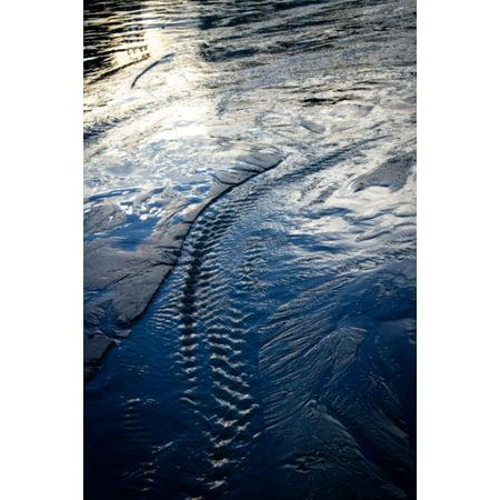 Water Etchings II, Fine Art Photograph By: Alan Hausenflock; One 24x36in Fine Art Paper Giclee Print ()