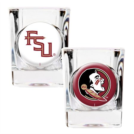 Great American Products NCAA Florida State Seminoles 2-Pack Shot Glass Gift Set
