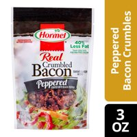 HORMEL Real Crumbled Peppered Bacon 4.3 OZ PEG