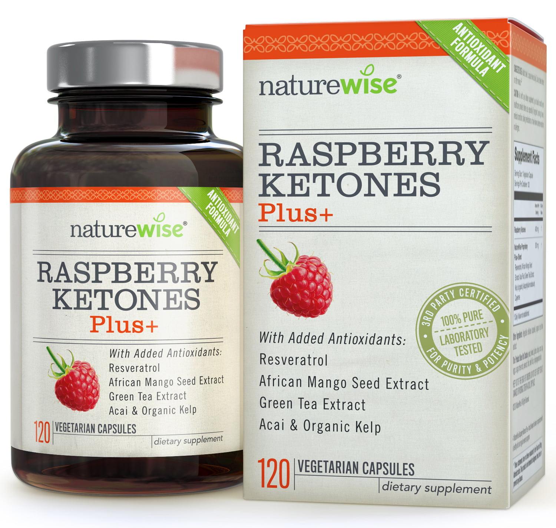 Naturewise Raspberry Ketones Plus 120 Ct Walmart Com Walmart Com