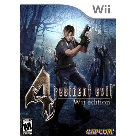 Resident Evil 4 WII (Four Wheeler Games Wii)
