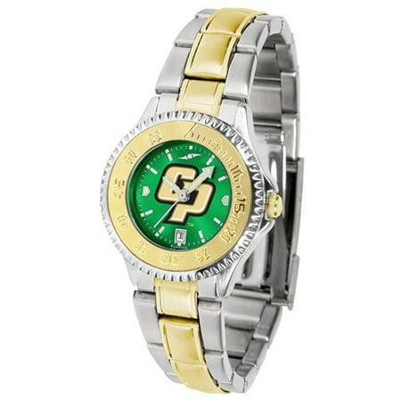 Two Tone Anochrome Watch (California Polytechnic State University Ladies Two Tone Anochrome Watch )