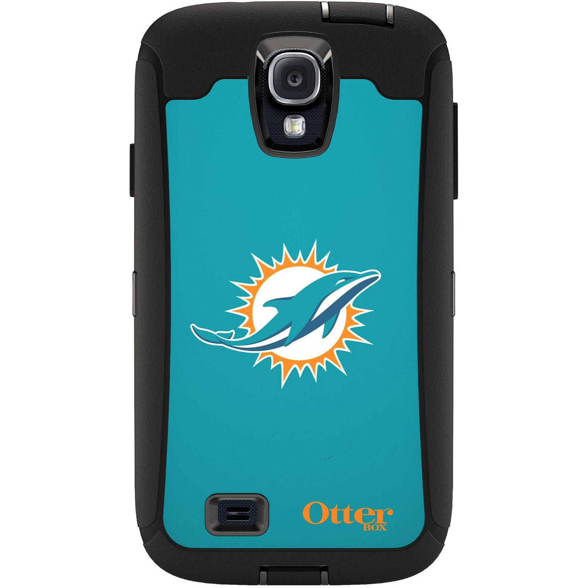 OtterBox Defender NFL Series Case for Samsung Galaxy S4, Dolphins