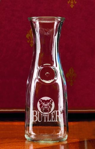 Butler Bulldogs 1 2 Litre Wine Carafe by Campus Crystal