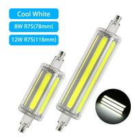 R7S LED Bulb, EEEKit Dimmable Daylight 78/118mm R7s J78 J118 LED Bulb, 8W 12W Floodlight Corn Bulb Halogen Replacement Lamp