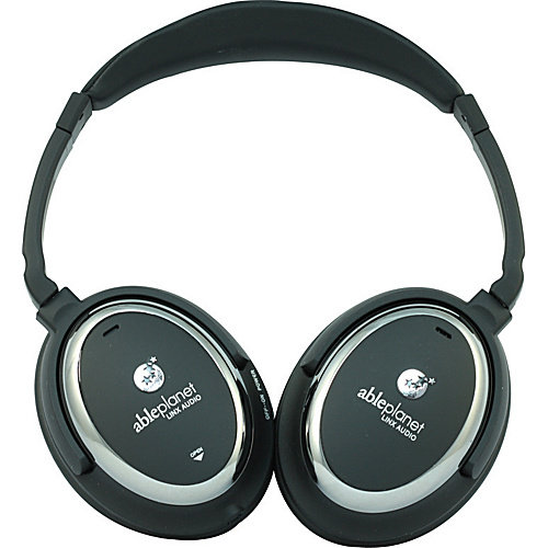 Able Planet True Fidelity Around the Ear Active Noise Canceling Headphones