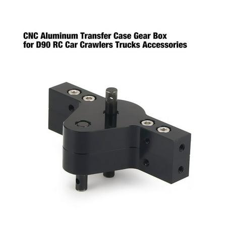 VENSE CNC Aluminum Transfer Case Gear Box for D90 RC Car Crawlers Trucks Parts - image 5 of 8