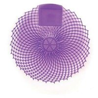 "Genuine Joe Urinal Screen, Lavender Fields, 7""Dia x 3/8""H, 12/DZ, Purple"
