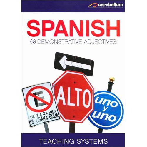 Teaching Systems: Spanish Module 10 - Demonstrative Adjectives