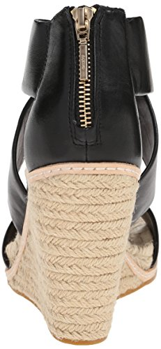 AERIN Women's Jayden Sandal, Black, 8 M US