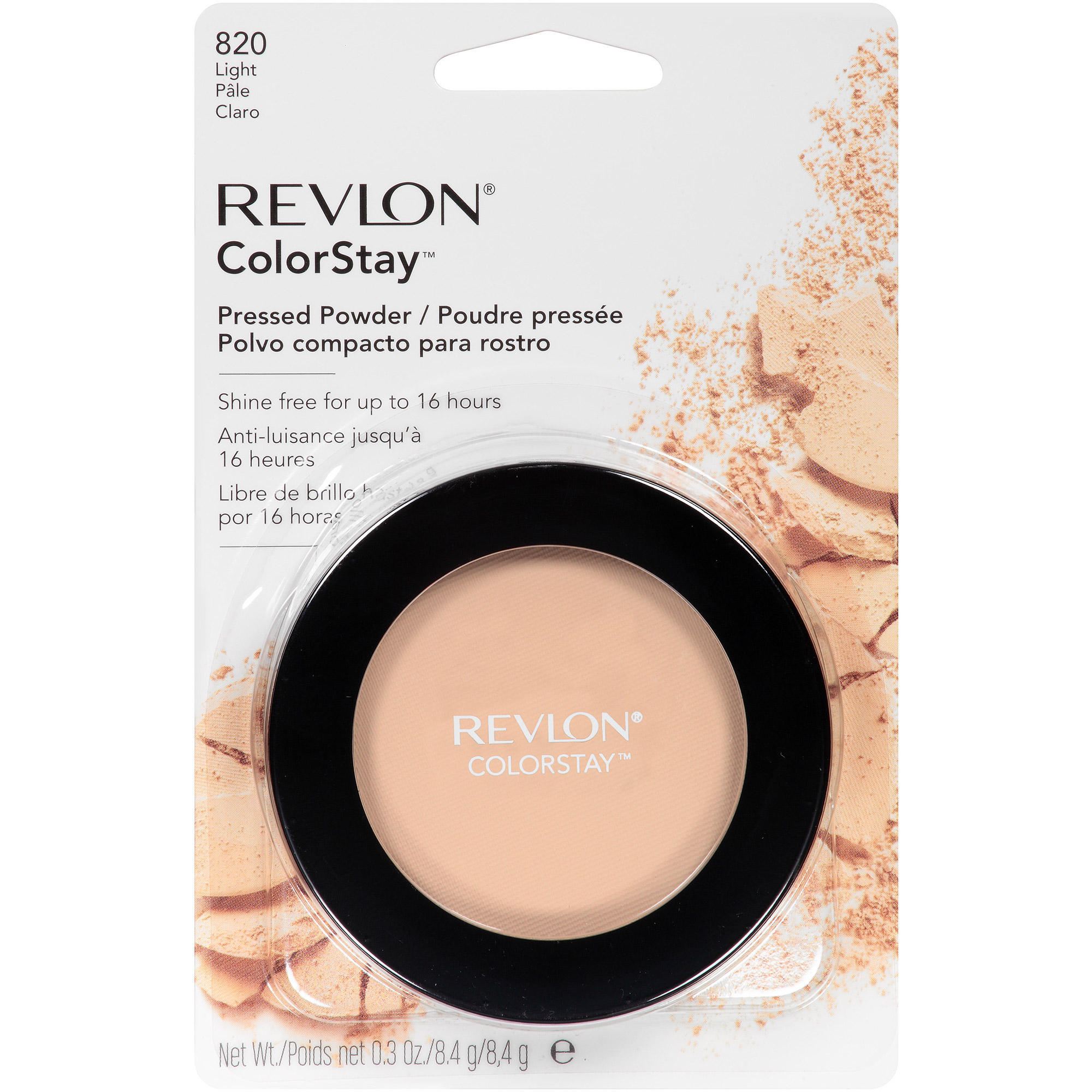 Revlon ColorStay Pressed Powder, 820 Light, 0.3 oz