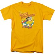 Mouse Of Tomorrow Mens Short Sleeve Shirt