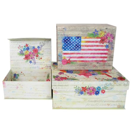 Punch Studio Nesting Box Med American Beauty S 3