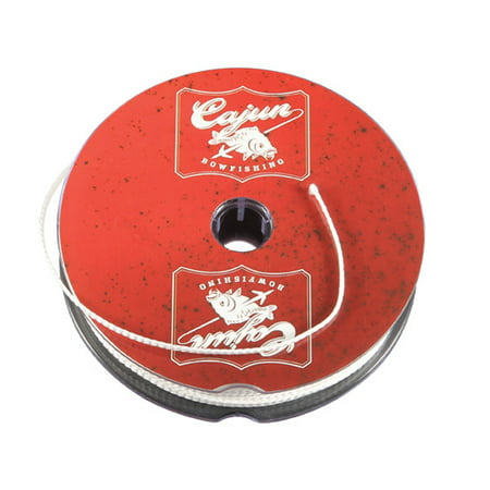 Cajun Bowfishing 25-Yard Spool of Premium Bowfishing Line with Superior Resistance to Wear or Breakage up to 250 lbs.