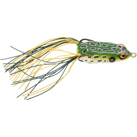 BOOYAH Pad Crasher Jr Fishing Lure Hollow body Frog Leopard Frog 2 in 1/4 oz