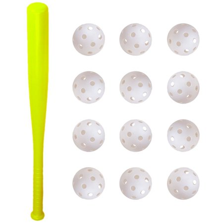 """K-Roo Sports Youth, with 12 Poly Baseballs Baseball Bat, 24"""""""