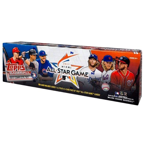 Mlb 2017 Topps Baseball Cards Complete Set All Star Edition