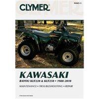 Clymer ATV Manual - Kawasaki Bayou KLF220 & KLF250 - M465-3