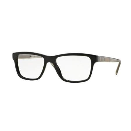 BURBERRY Eyeglasses BE 2214 3001 Black 53MM ()