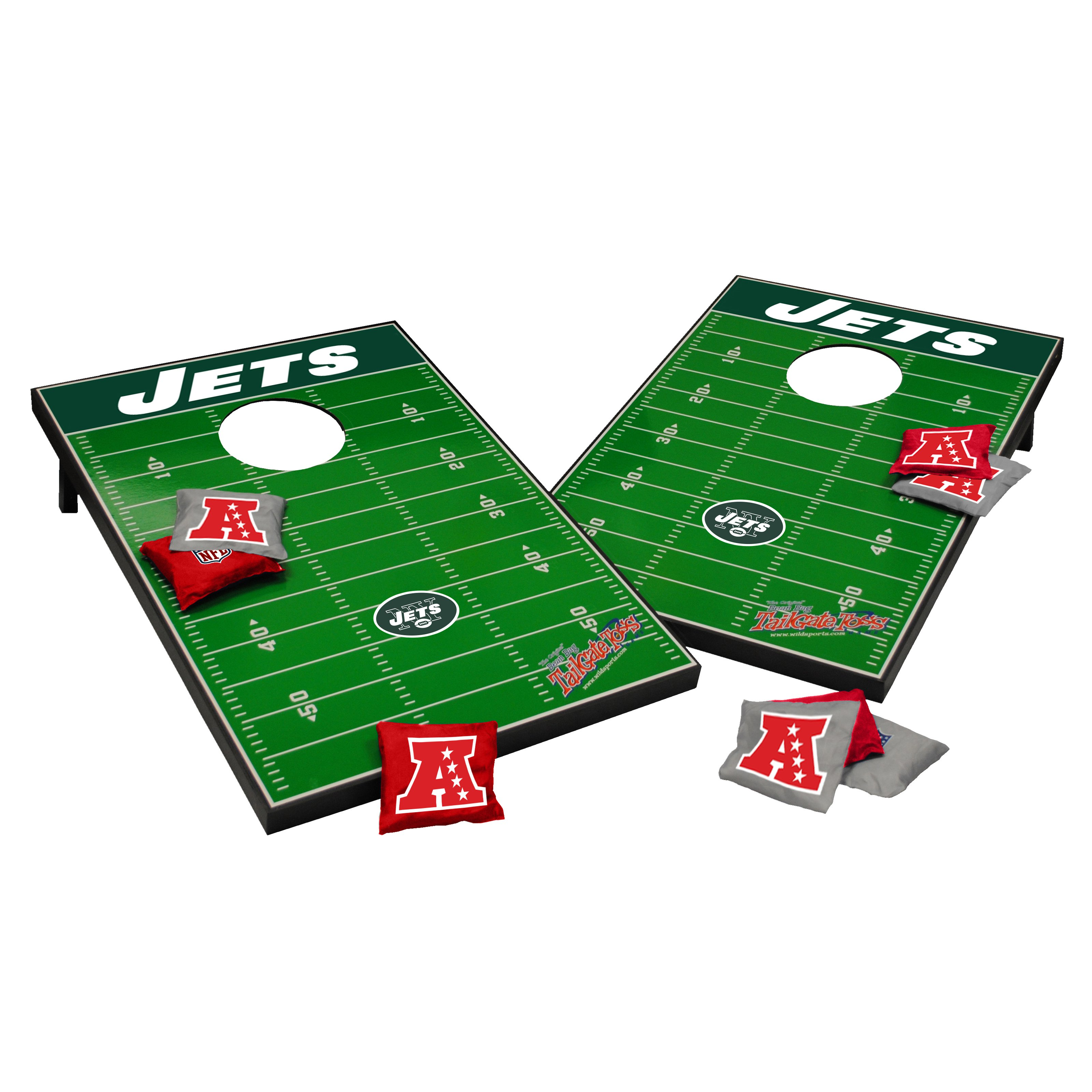 Wild Sports NFL Tailgate Toss Cornhole Set by Wild Sales LLC