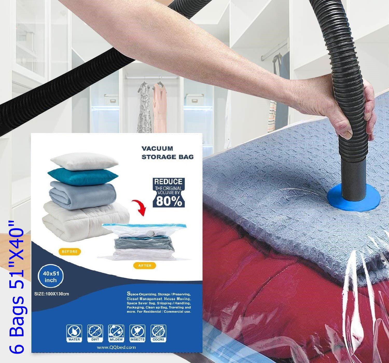10//20//30//40//50 Strong Vacuum Storage Bag Space Saving Compressed Bag Vaccum Pack