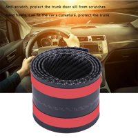 YLSHRF Car Stickers Carbon Fiber Rubber Styling Door Sill Guards Protector Universal, Door Sill Guards,Sill Guards
