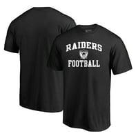 Las Vegas Raiders NFL Pro Line by Fanatics Branded Vintage Collection Victory Arch T-Shirt - Black