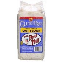 Bob's Red Mill, Whole Grain Oat Flour, Gluten Free, 22 oz (pack of 2)