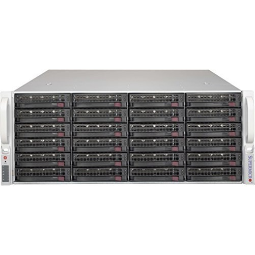"Supermicro Chassis CSE-846BE1C-R1K03JBOD 4U JBOD 24x3.5"" Brown Box"