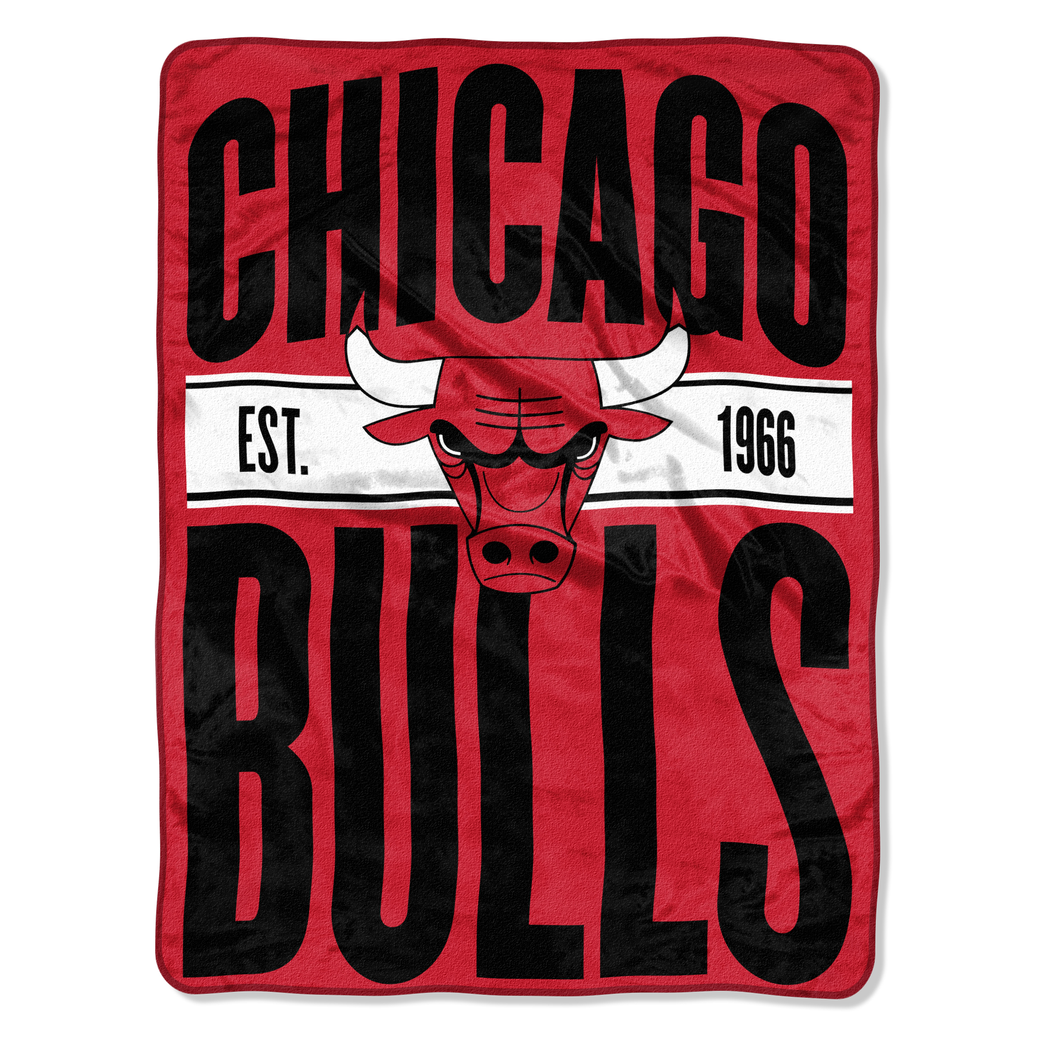 "NBA Chicago Bulls ""Clear Out"" 46""x 60"" Micro Raschel Throw"