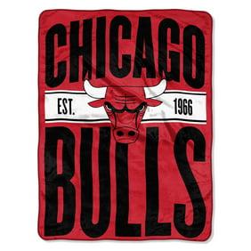 """c3b6847f4e8 NBA Chicago Bulls """"Clear Out"""" 46""""x 60"""" Micro Raschel Throw"""