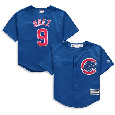 Javier Baez Chicago Cubs Majestic Preschool Alternate Official Cool Base Player Jersey - Royal ()
