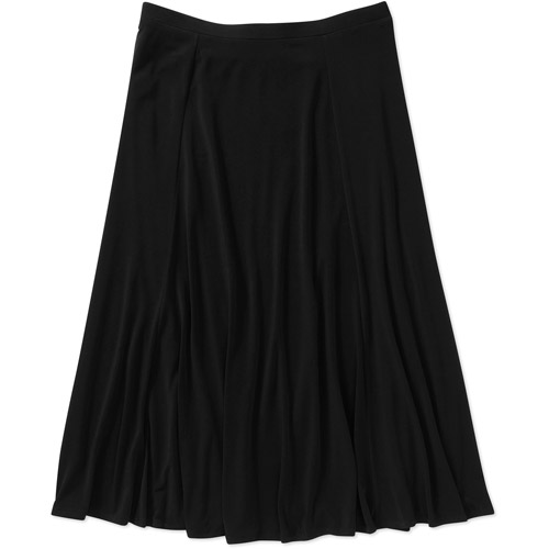 George Easy Wear Collection Women's Plus-Size Pull-On Skirt
