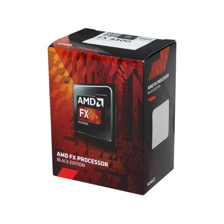 Amd Fd4300wmhkbox Quad-Core Fx-4300 3.8 Ghz 64-Bit Processor Black