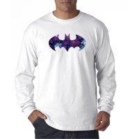 631 - Unisex Long-Sleeve T-Shirt Batman Dark Knight Galaxy Logo Parody