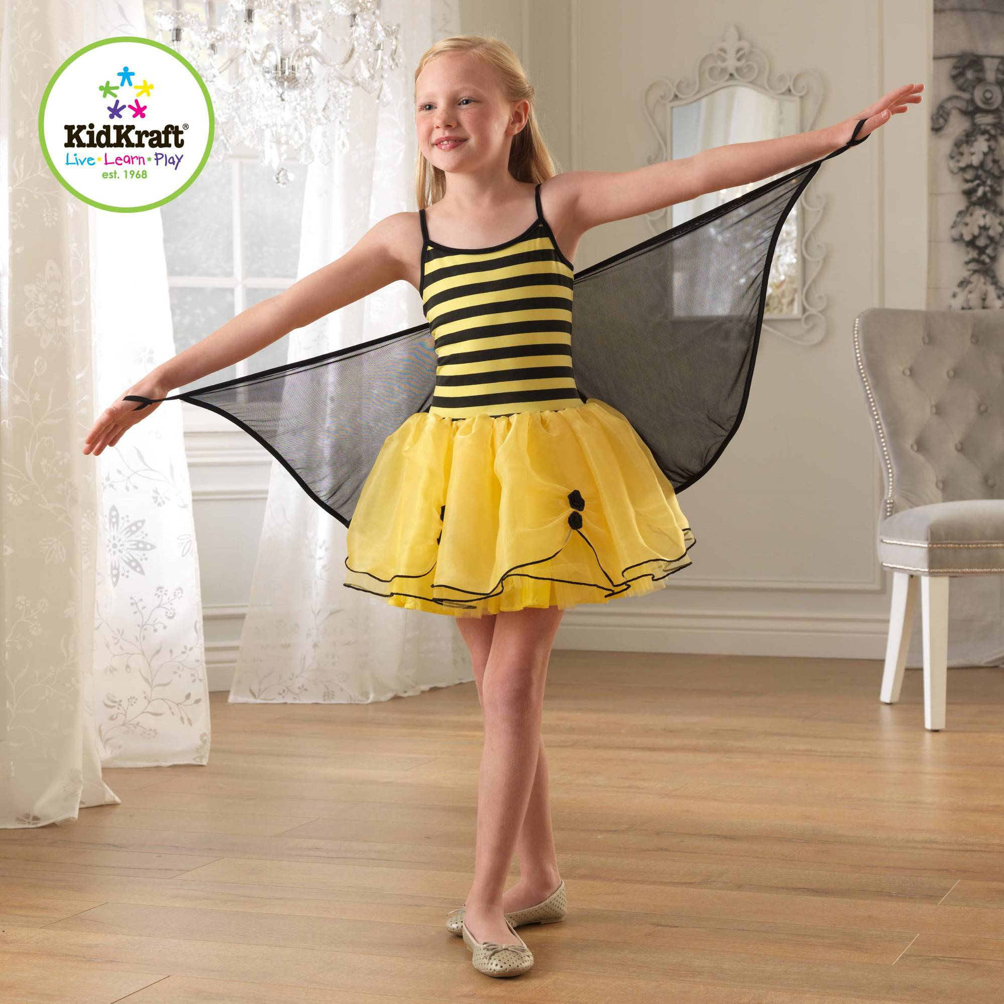 KidKraft Winged Bumblebee Dress Up Costume