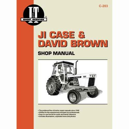 I&t Shop Manual Case - I&T Shop Manual Collection, New, Case, David Brown