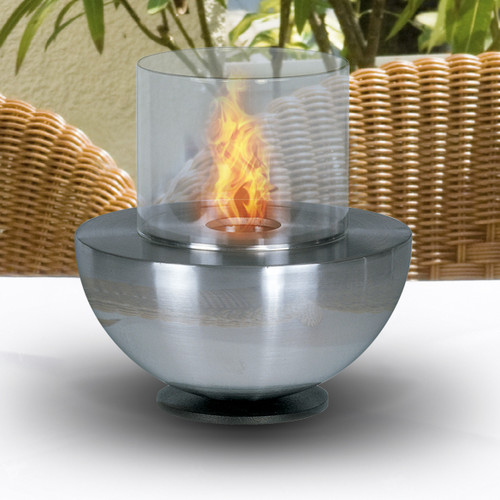 Aquafires Spherical Bio-Ethanol Tabletop Fireplace