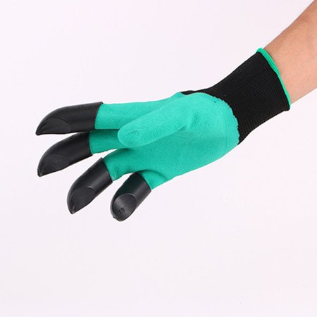Gardening Gloves for Garden Digging Planting with 8 Claws Protection Gloves - image 11 of 11